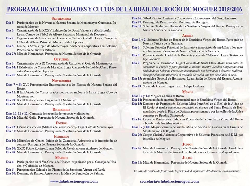 Moguer agenda 2015-16