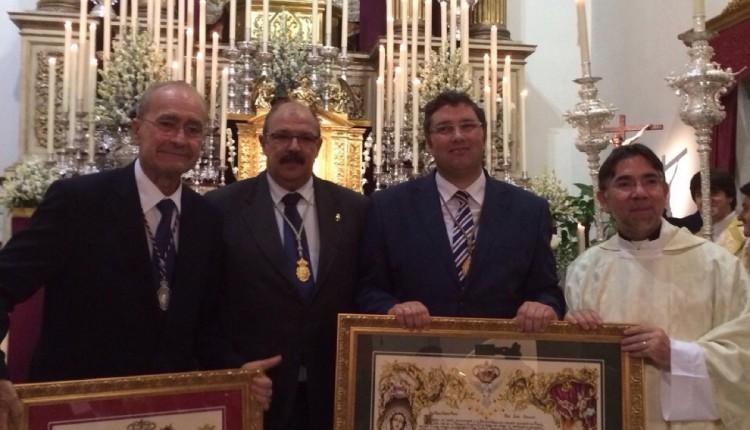 Hermandad Matriz – Amadrina este fin de semana la Coronación de la Virgen del Rocío de Málaga