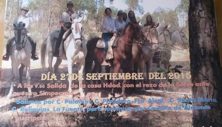 Hermandad de Villalba del Alcor – IV Paseo Ecuestre