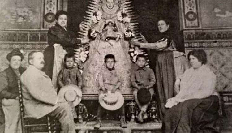 Foto de Ntra. Sra. La Virgen del Rocío en 1917