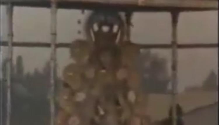 Procesión de la Virgen del Rocío en los años 70