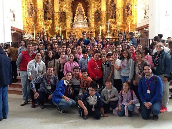 Albaida peregrinacion 2015