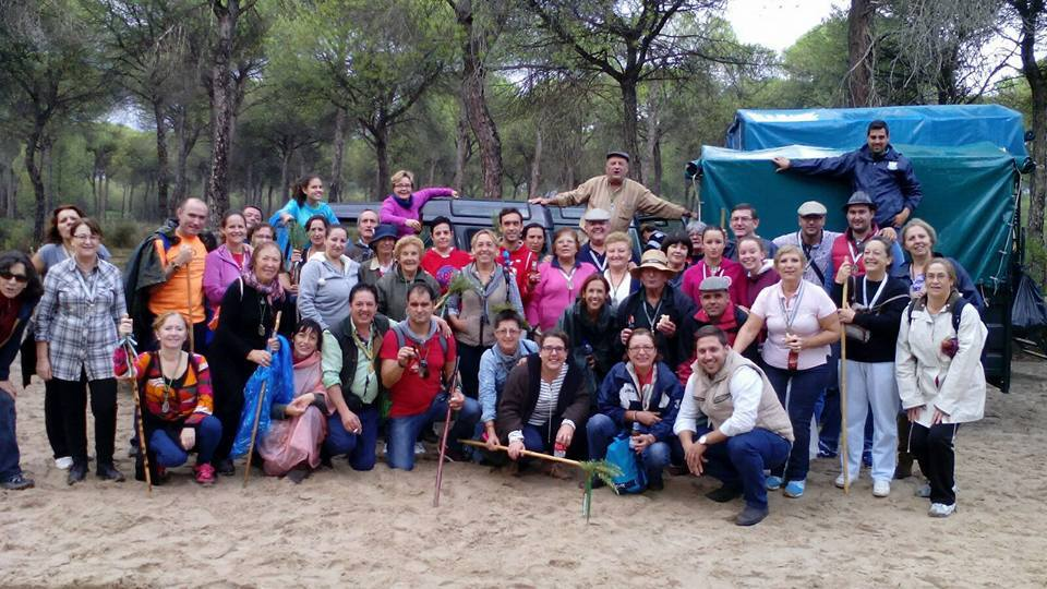 Almensilla peregrinacion 2015