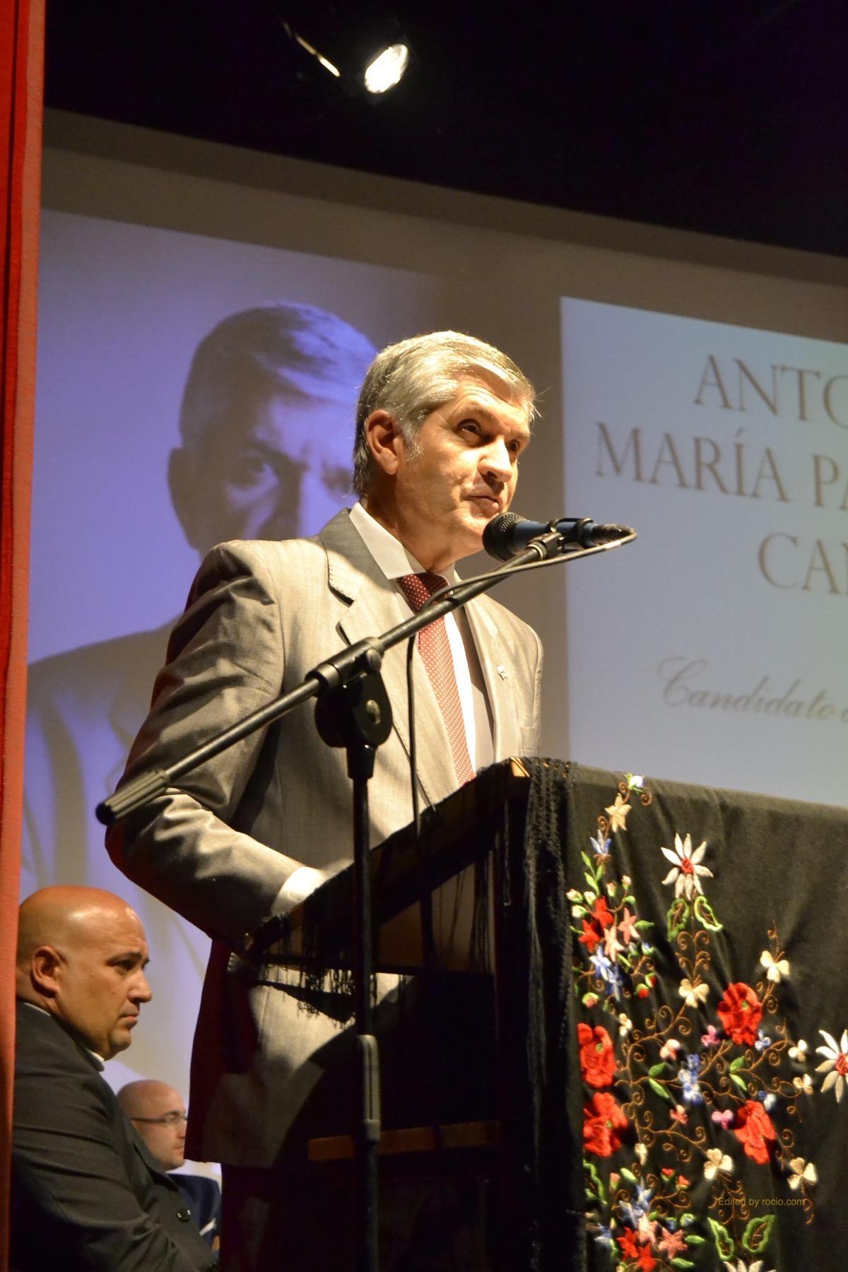 Antonio María Palomar presenta su candidatura a Hermano Mayor a la Hermandad del Rocío de Gines-5