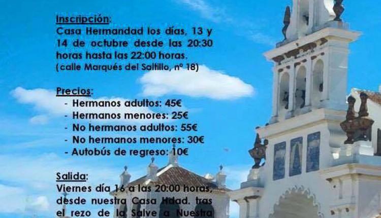 Hermandad de Espartinas – XXV Peregrinación andando al Rocío 2015
