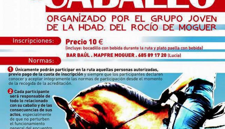 Hermandad de Moguer – I Ruta a caballo