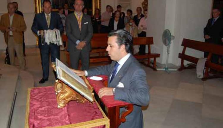 Hermandad de Sevilla El Salvador – Marcos Cañadas Bores nuevo Hermano Mayor