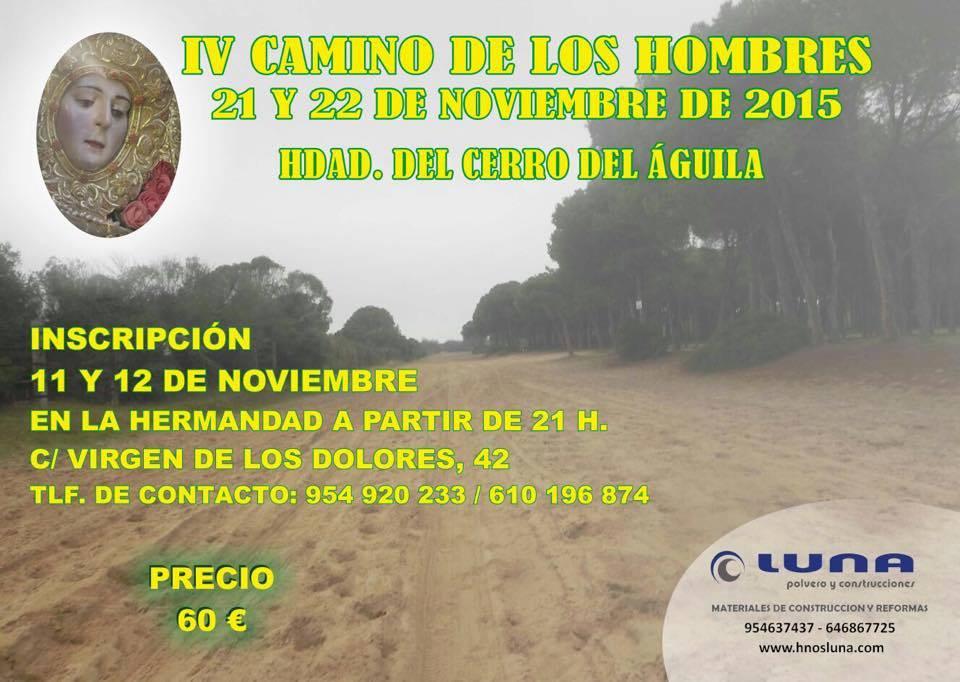 Cerro del águila peregrinacion hombres 2015