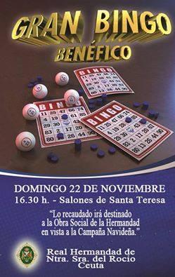 Ceuta bingo benefico 2015