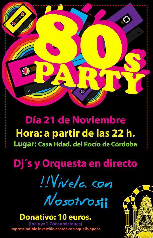 Cordoba fiesta 80 party