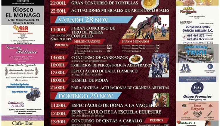 Agrupación Parroquial de Ntra. Sra. del Rocío de El Cuervo –  I Gran Festival a beneficio del Simpecado