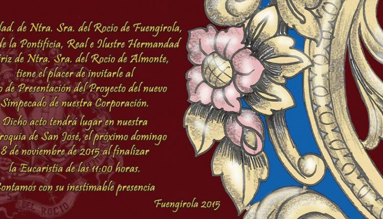 Hermandad de Fuengirola – Presentación del Proyecto del nuevo Simpecado