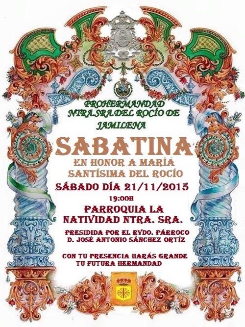 Jamilena-SABATINA NOVIEMBRE 2015