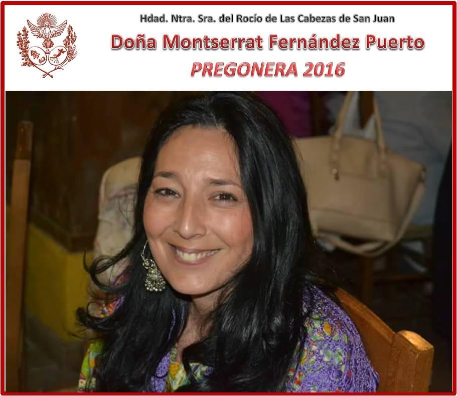 Las Cabezas -PREGONERA - MONTSE2016
