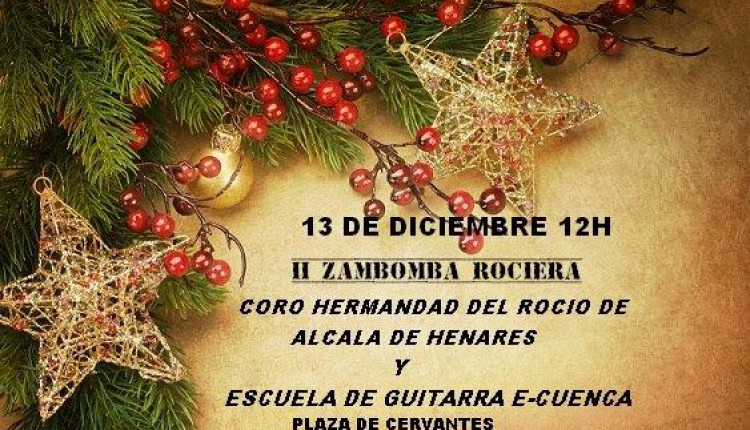 Hermandad de Alcalá de Henares – II Zambomba Rociera 2015