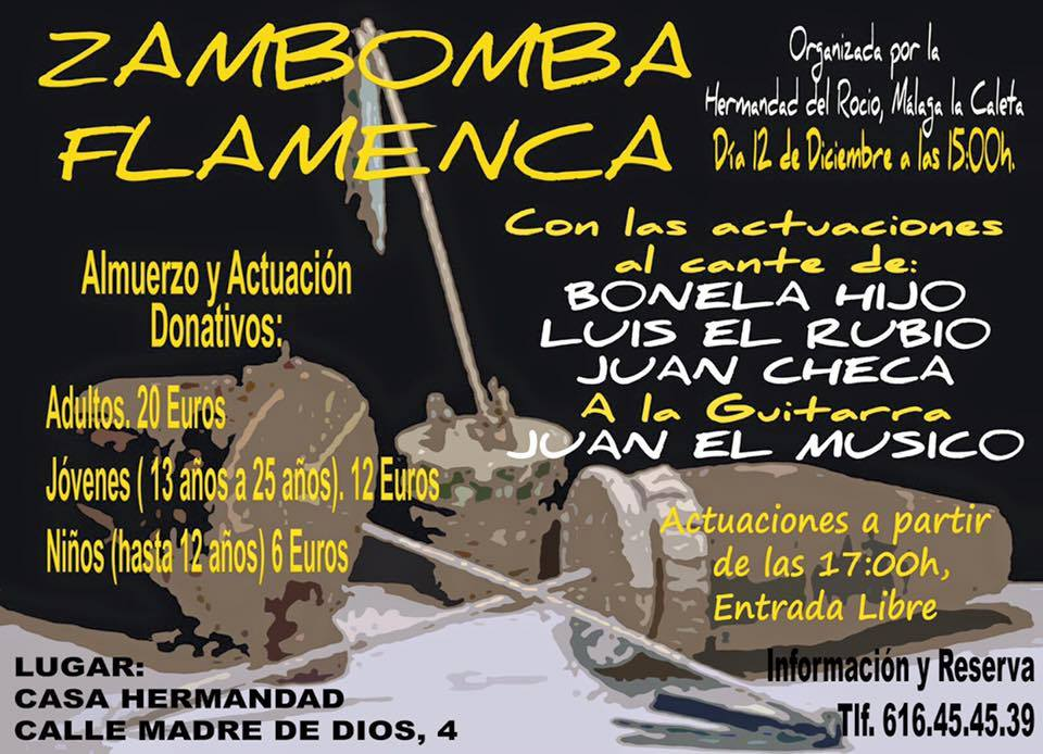 La Caleta zambomba 2015