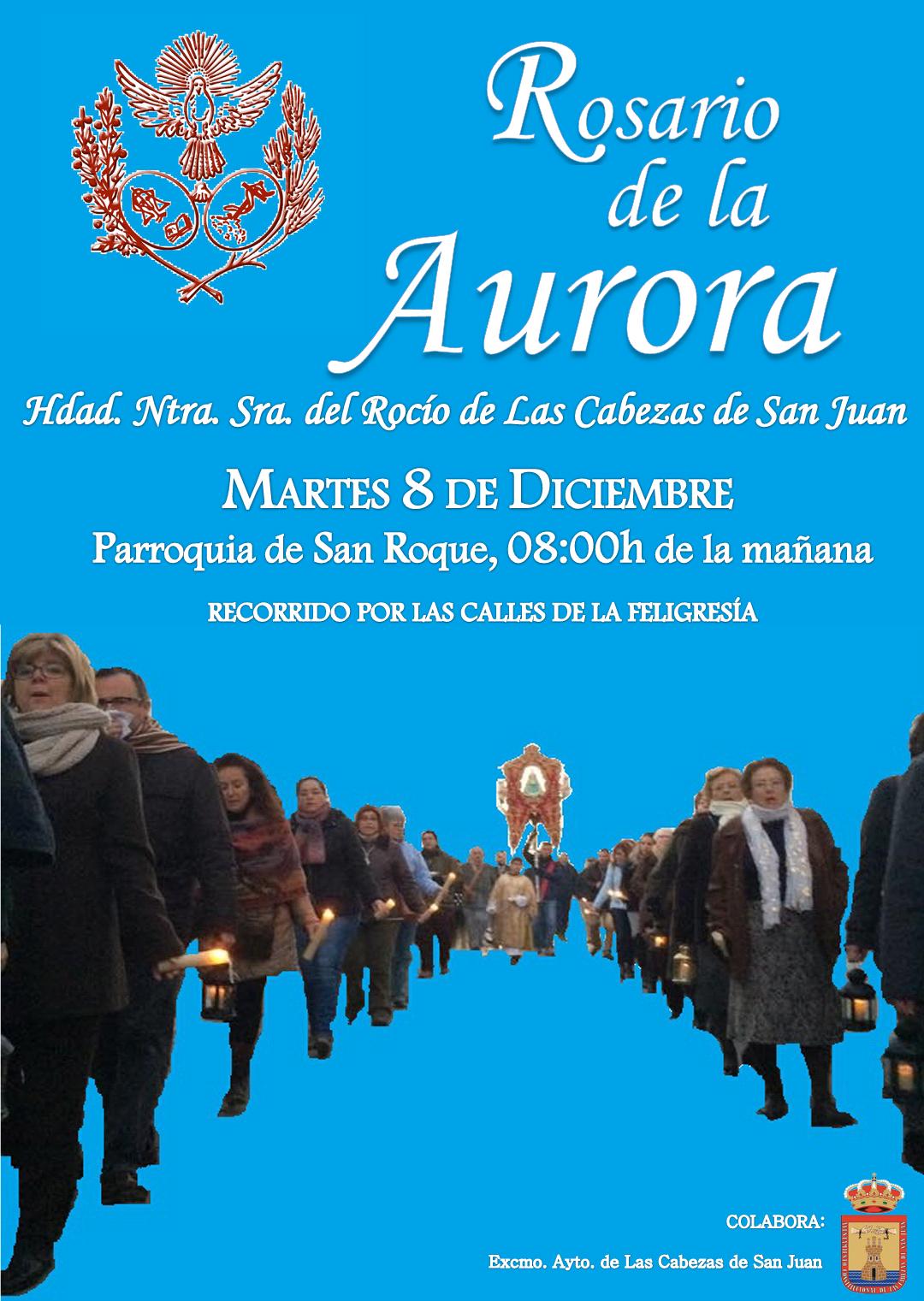 Las Cabezas  cartel Rosario de la Aurora