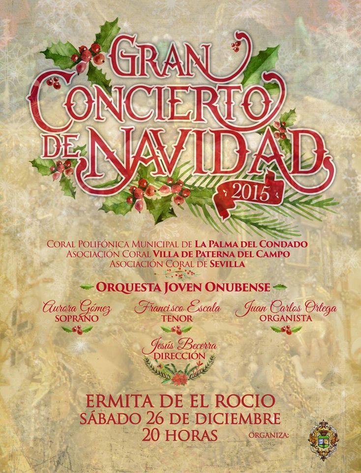 Matriz Navidad 2015 concierto