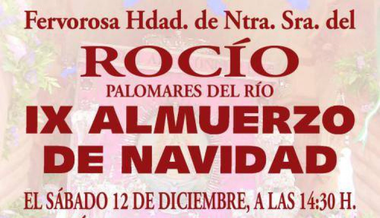 Hermandad de Palomares del Río – IX Almuerzo de Navidad 2015