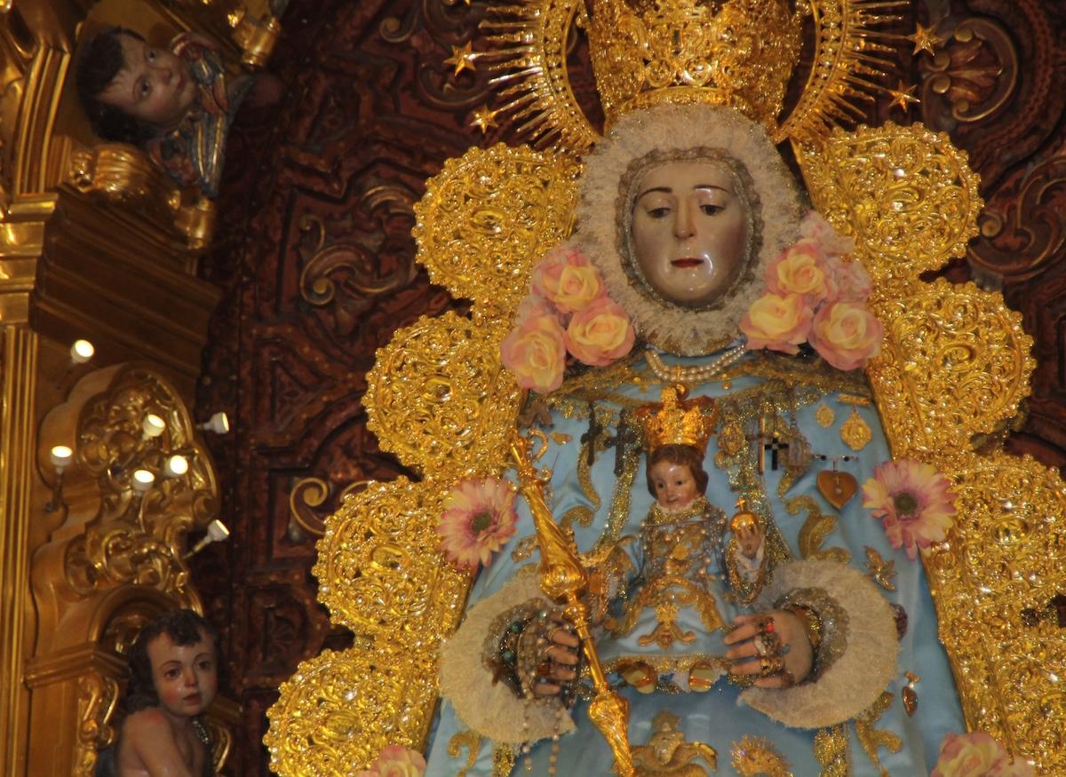 Virgen rocío inmaculada 2015-1