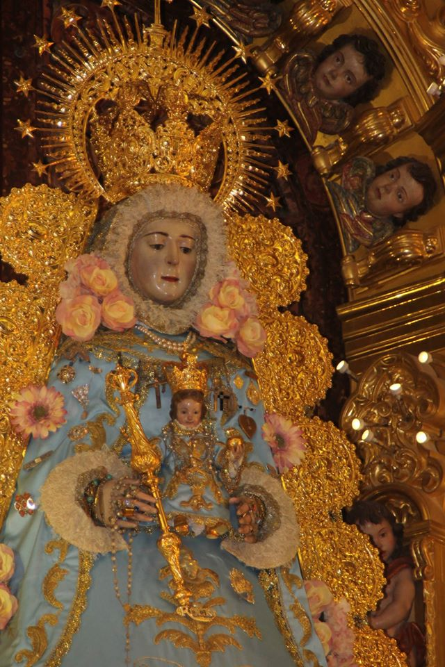 Virgen rocío inmaculada 2015-4