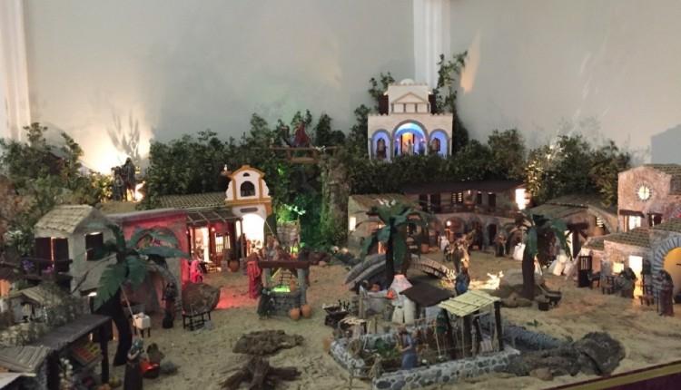 Belén de la Hermandad de Triana en la calle Evangelista de Sevilla