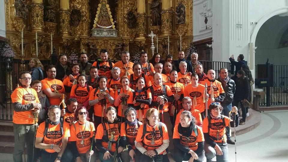 Isla Cristina peregrinos 2016
