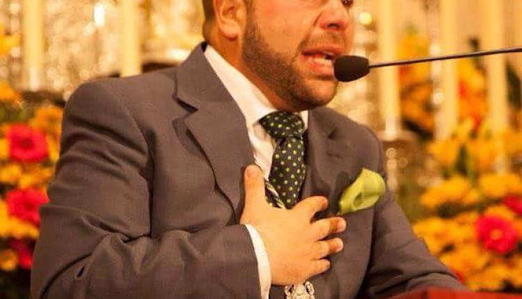 Hermandad de Olivares – Antonio Manuel Pérez Jaime pregonero 2016