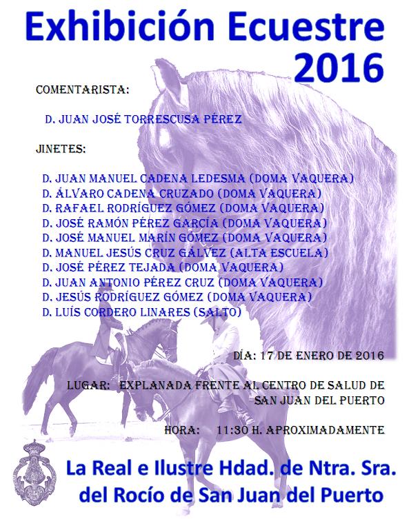 San Juan del Puerto ecuestre 2016