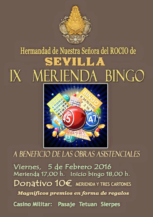 Sevilla bingo febrero 2016