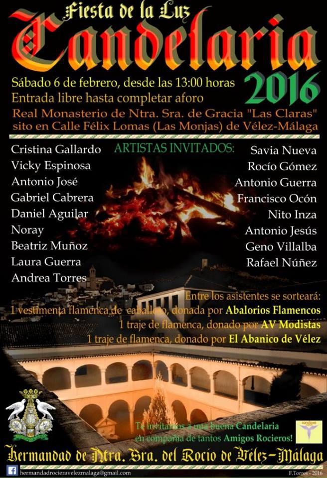 Velez Malaga - candelaria 2016