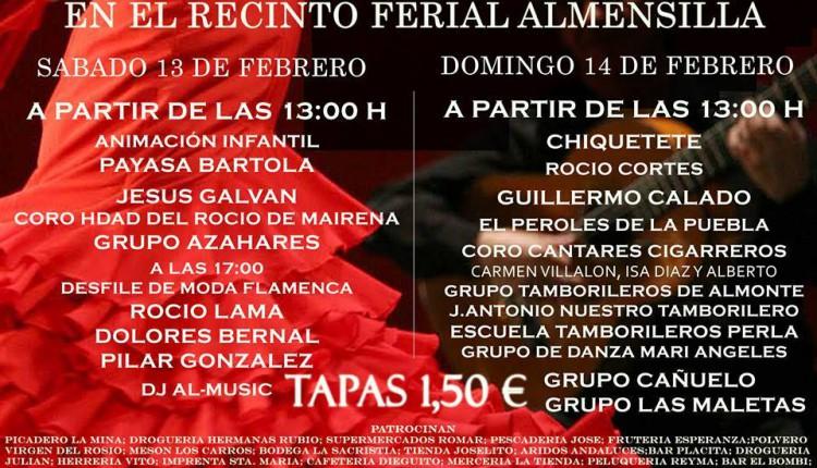 Hermandad de Almensilla – XVII Día de la Tapa 2016