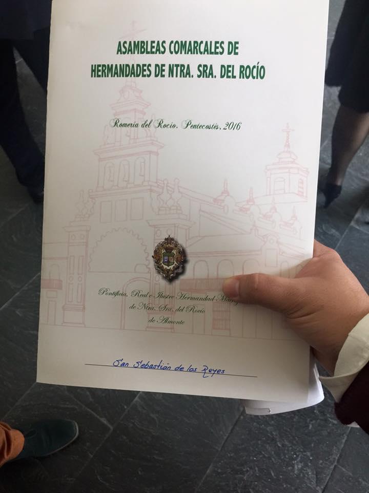 Asamblea comarcal huelva 2016