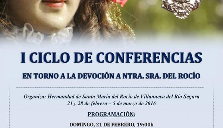 Hermandad de Villanueva del Río Segura – I Ciclo de Conferencias