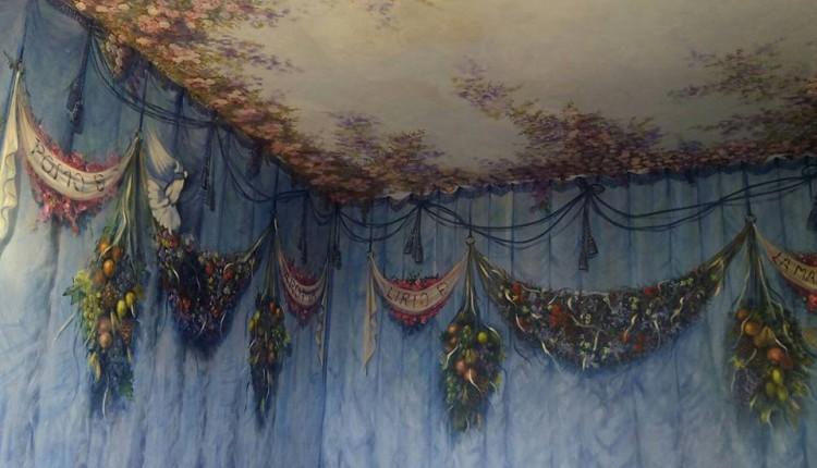 Hermandad de Hinojos – Bendecidos los Frescos de la Capilla del Simpecado en la Casa de Hermandad