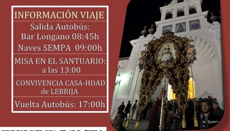 Hermandad de Las Cabezas de San Juan – Misa anual en el Santuario del Rocío