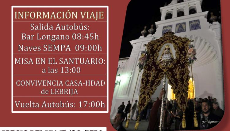 Hermandad de Las Cabezas de San Juan – Peregrinación anual al Rocío 2016