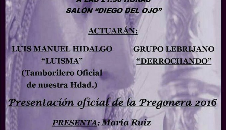 Hermandad de Lebrija – XL Cena Rociera 2016