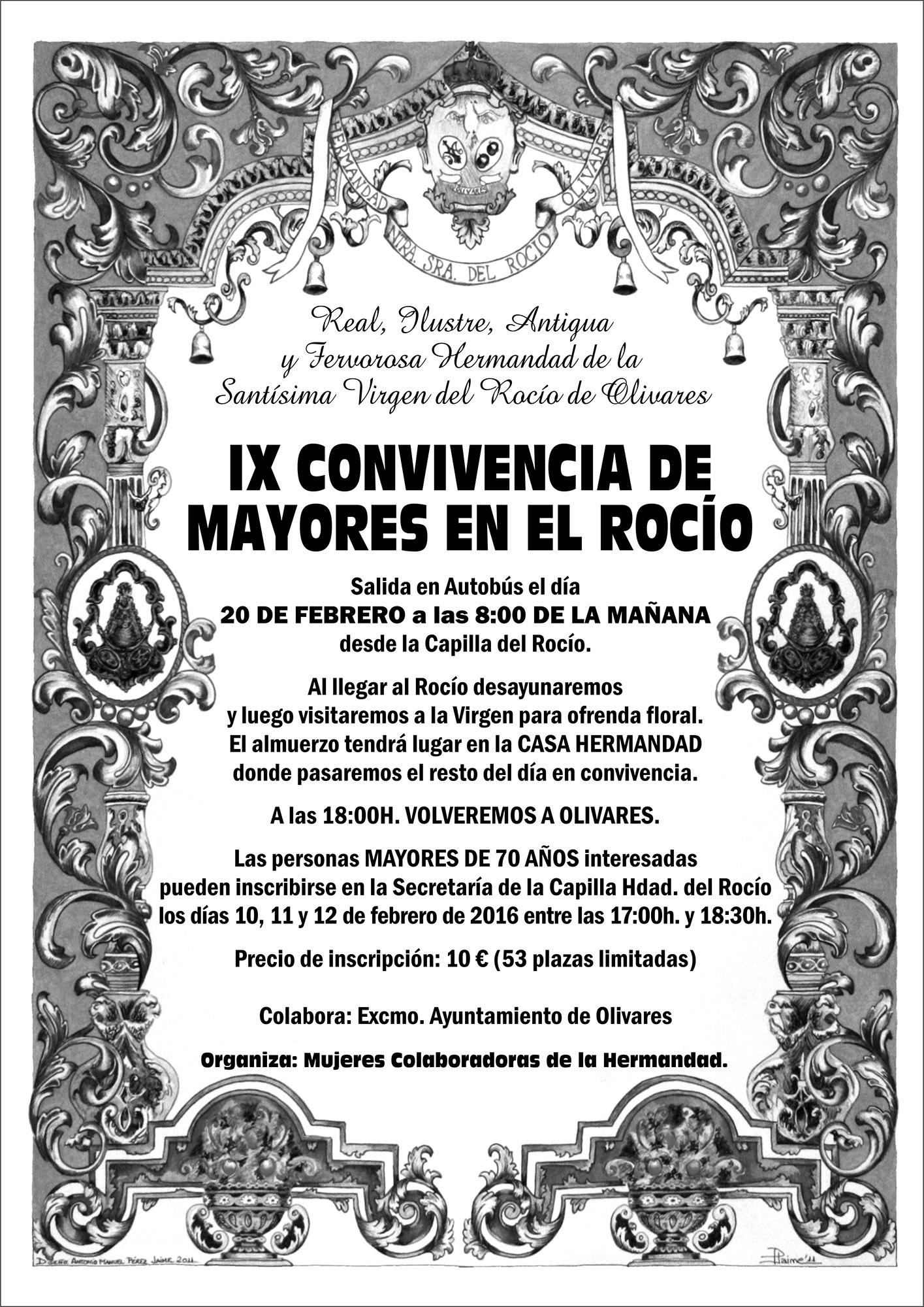 Olivares - IXConvivenciaMayoresEnElRocio2016