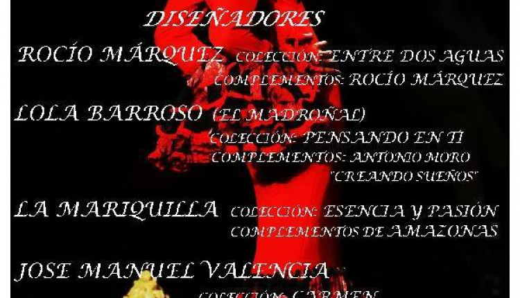 Hermandad de Rociana – Desfile de Moda Flamenca 2016