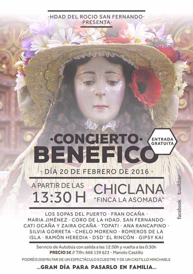 San Fernando concierto 2016