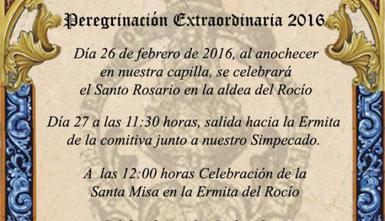 Hermandad de San Juan del Puerto – Peregrinación Extraordinaria 2016