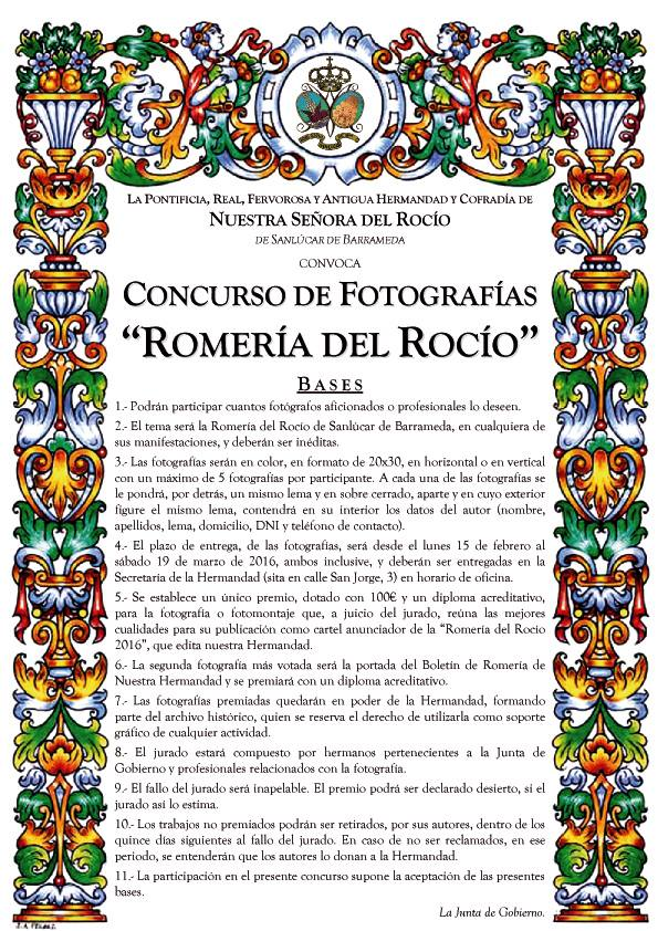 Sanlucar fotos romeria concurso 2016