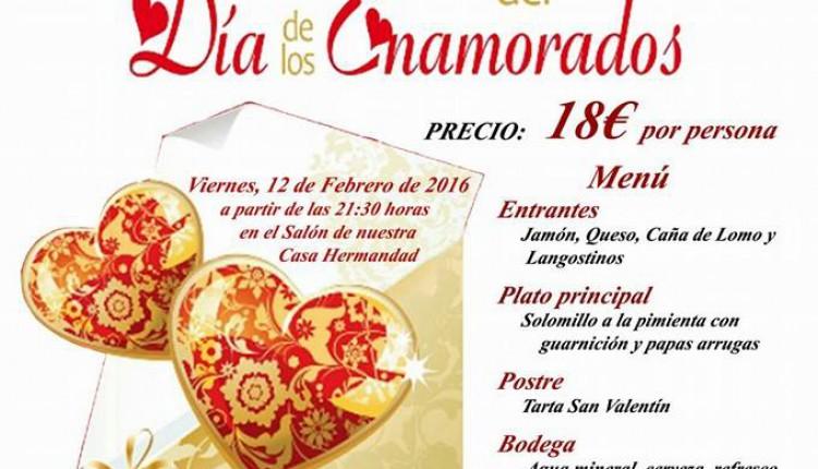Hermandad de Santiponce – Cena Día de los Enamorados 2016