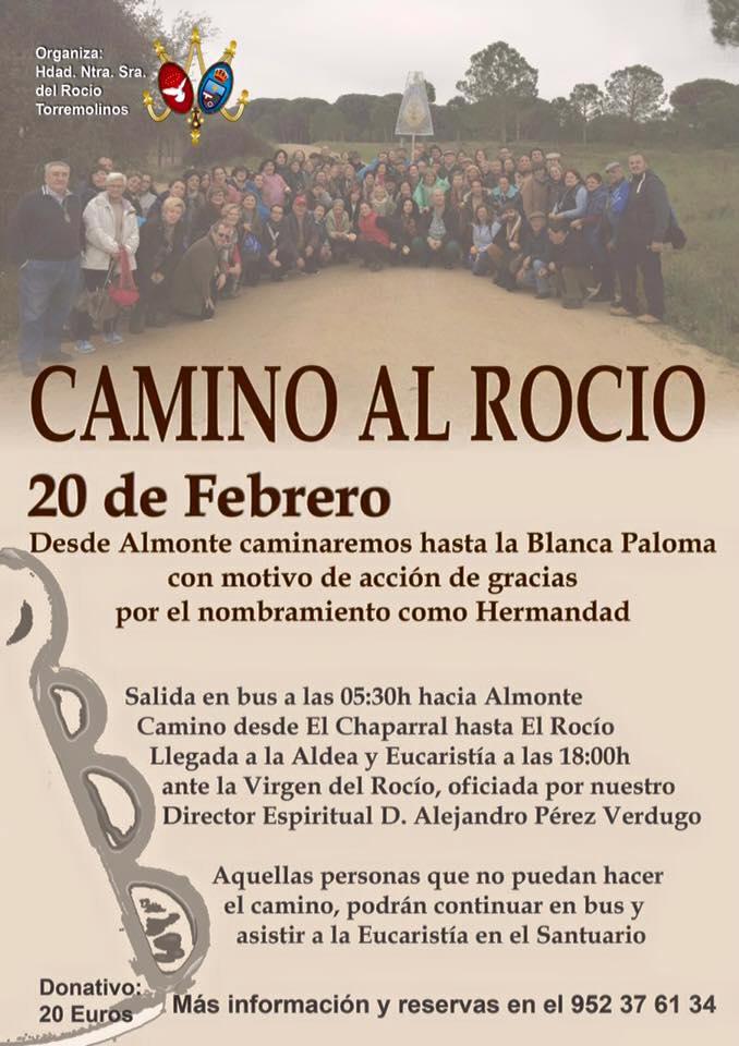 Torremolinos  2016 Cartel II Camino y Eucaristía