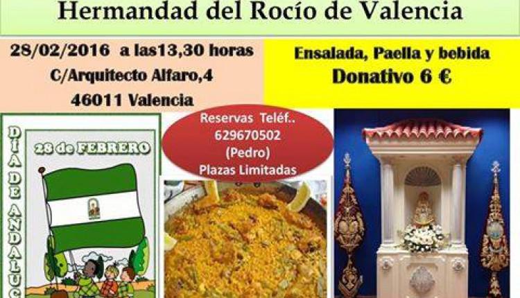 Hermandad de Valencia – Gran Paella día de Andalucía