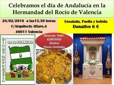 Valencia paella dia andalucia