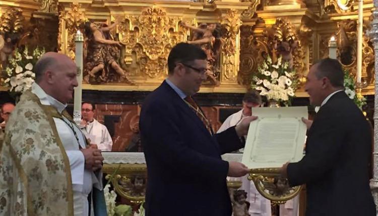 Hermandad de Valencina de la Concepción – Nueva Hermandad Filial con el nº 117