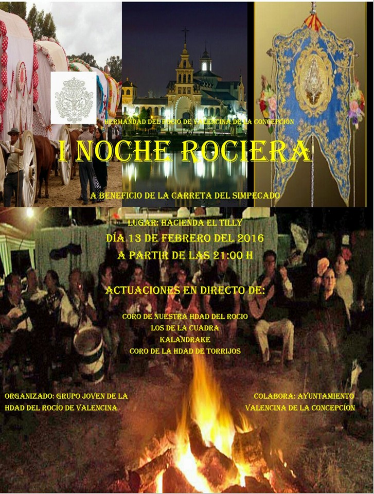 Valencina noche rociera 2016