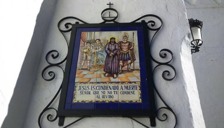 Vía Crucis de Almonte al Rocío – Fotos de los Hitos del Camino